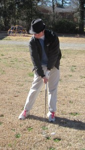 golf swing after injury